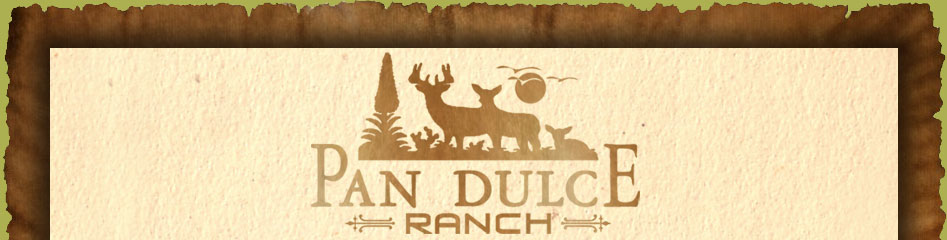 South Texas Hunting Pan Dulce Ranch Logo